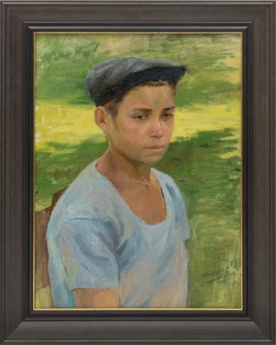 Картина «Юный вратарь»