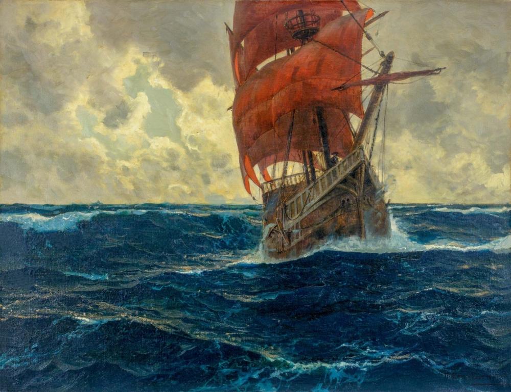 Картина «Алые паруса»