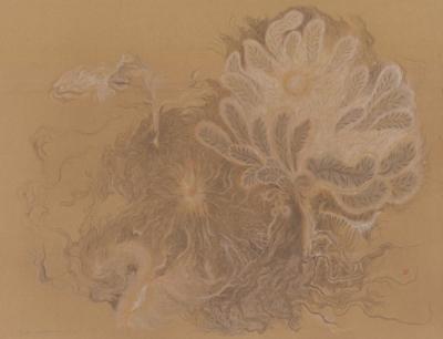 Рисунок «Чрево космической матери»