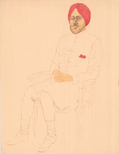 Рисунок «Индус»