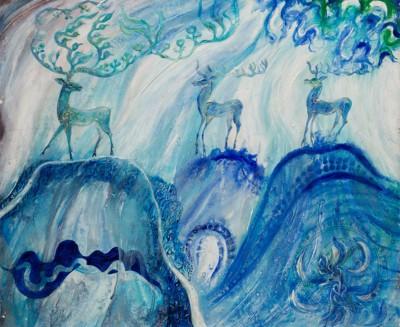 Картина «Олени»