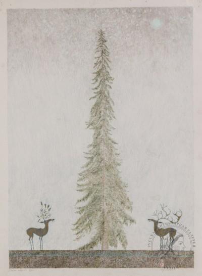 Картина «Олень северного Эдема»