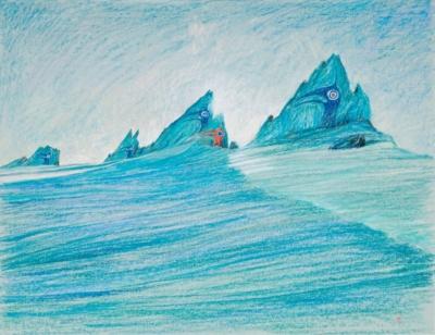 Рисунок «Тотемы севера»