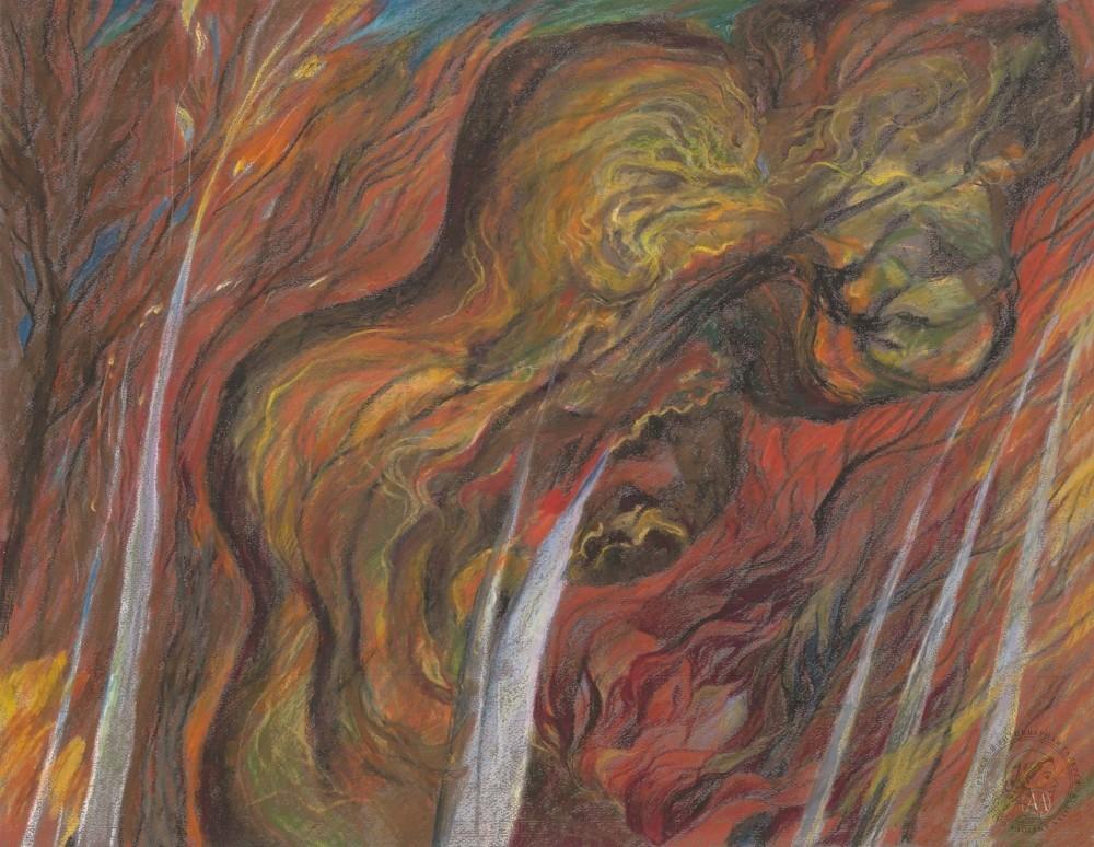 Рисунок «Волшебный лес»