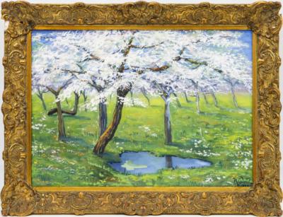 НХ Деревья в цвету