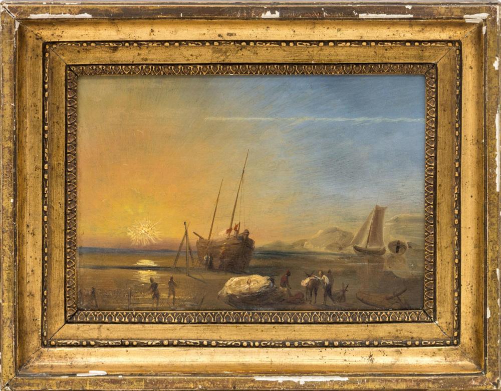 Картина «Рыбаки на берегу»