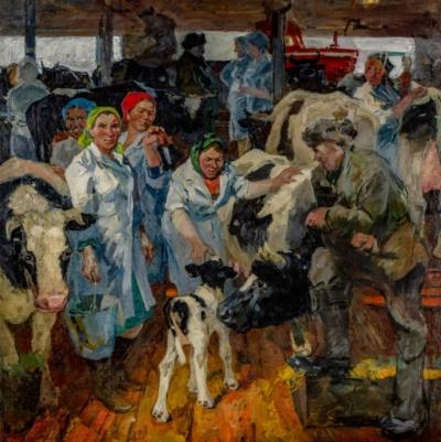 Картина «На ферме»