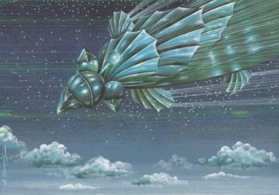 Над облаками художник Григорьев
