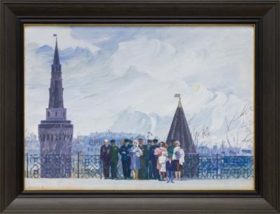 Рисунок «У кремля»