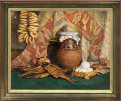 Картина «Натюрморт с баранками»
