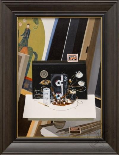 Картина «Натюрморт с кассетой TDK»