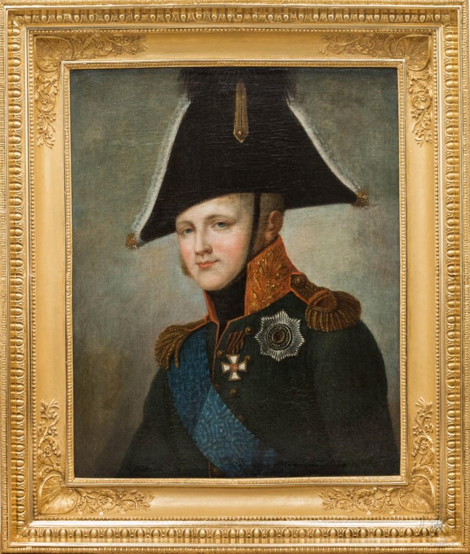 Картина «Портрет императора Александра I (тип Кюгельхена)»