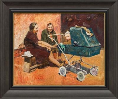 Картина «Женщины с коляской»