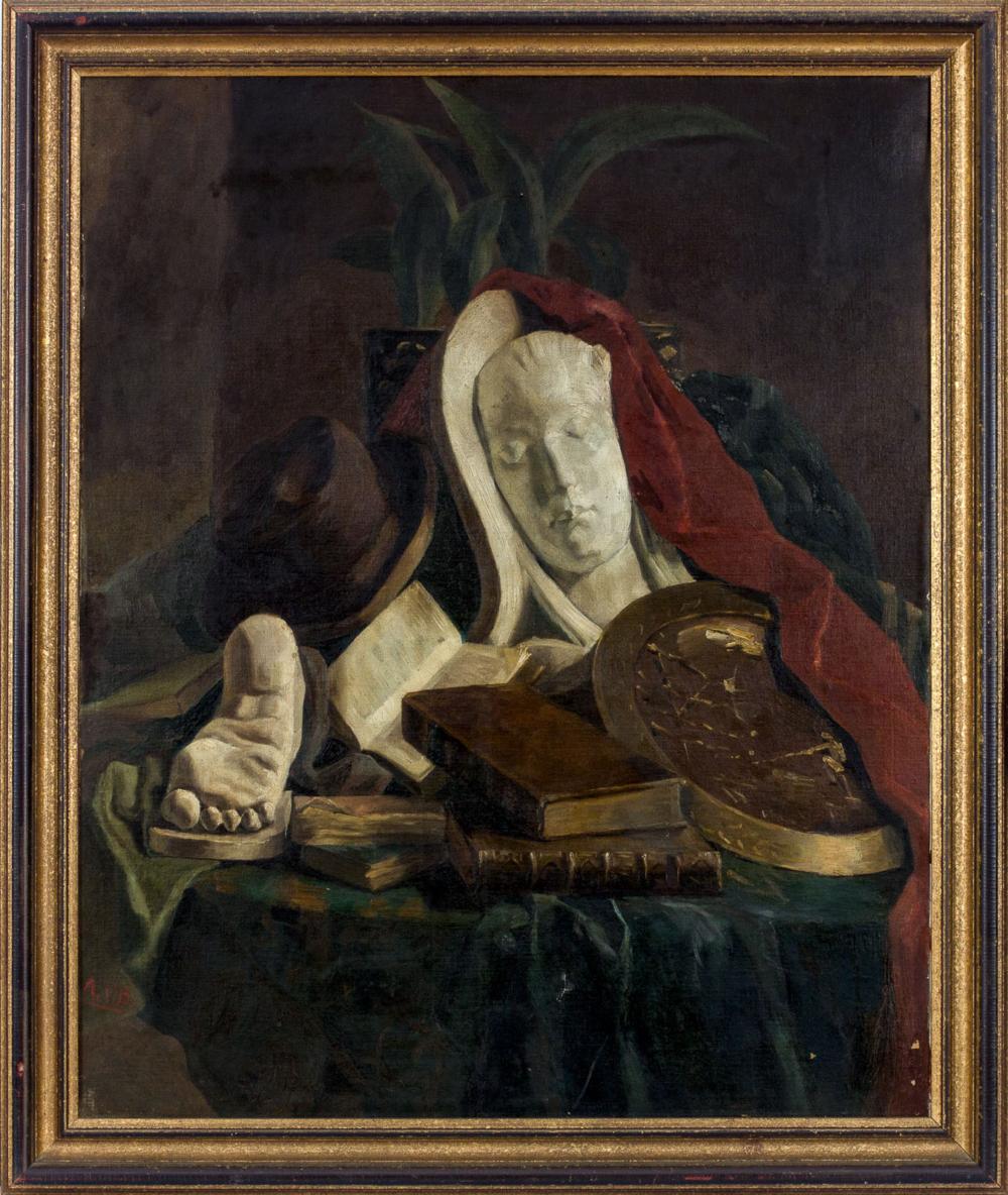 Картина «Натюрморт с гипсовой скульптурой»