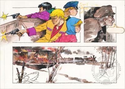 Иллюстрация к книге «Неуловимые мстители». Рисунок №39