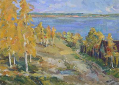 Этюд «Осень»