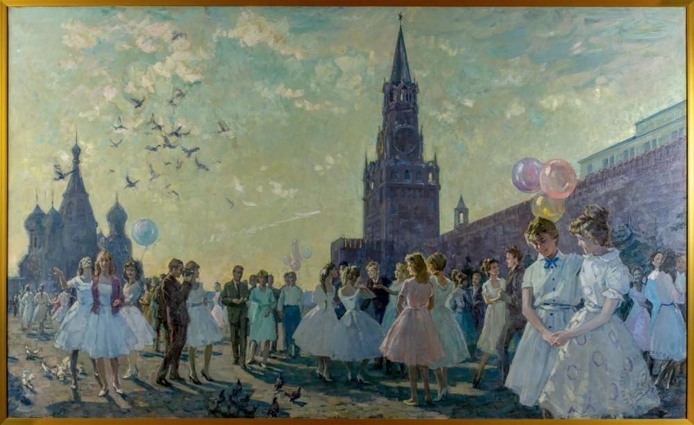 Картина «Бал на Красной площади»