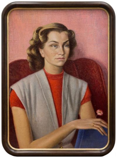 Картина «Женский портрет (Крюкова И.П.)»