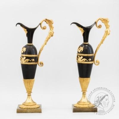 Парные декоративные кувшины (вазы-кувшины)
