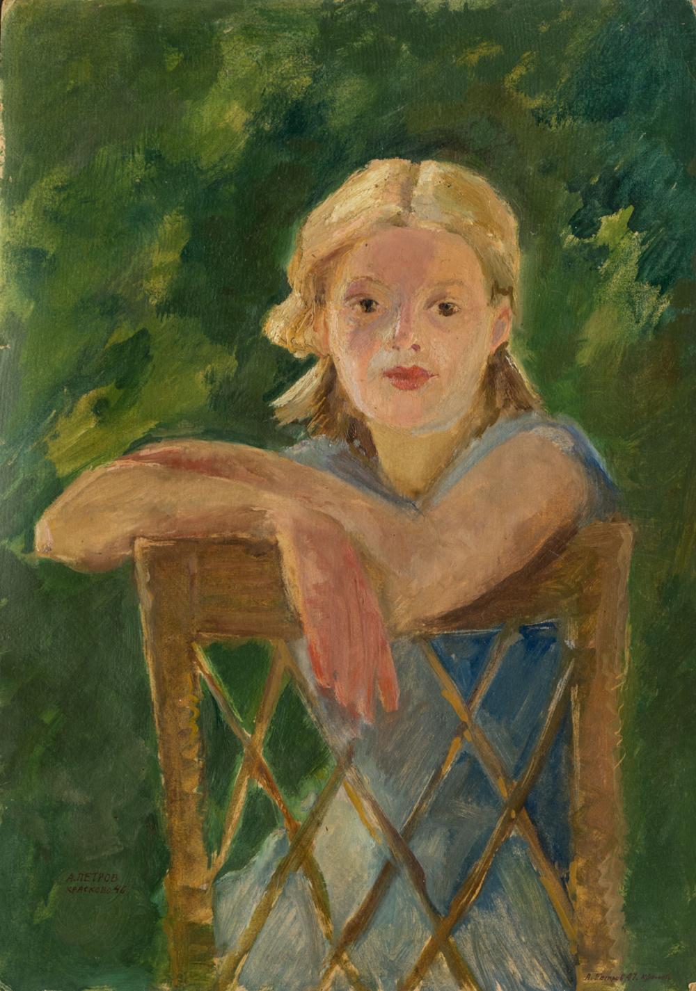 Картина «Портрет девочки»