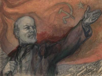 Рисунок «Ленин В.И.»