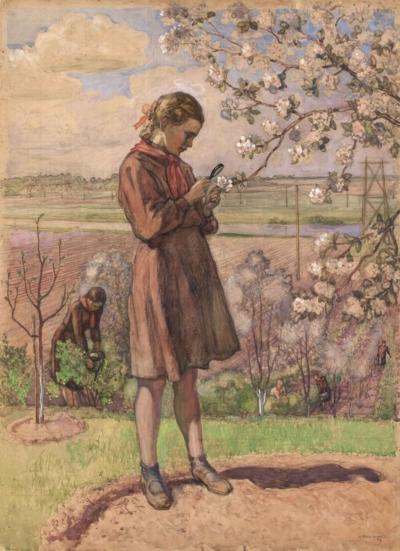 Рисунок «Юные мичуринцы»