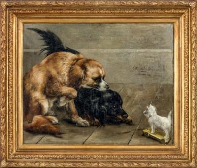 Пит ван Энгелен Piet van Engeln. Собаки (Новый товарищ).