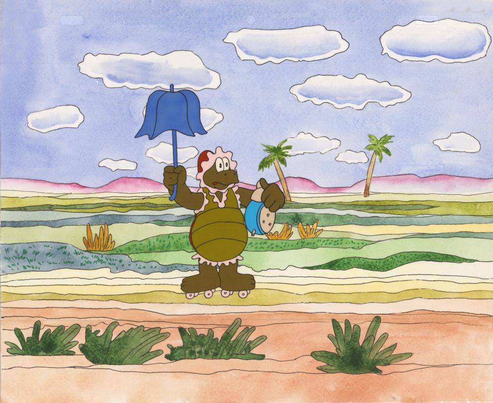 Кадр из мультфильма «По дороге с облаками»