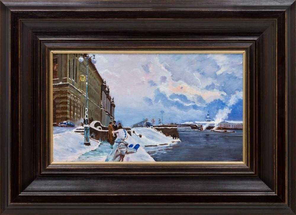 Картина «Набережная Санкт-Петербурга»
