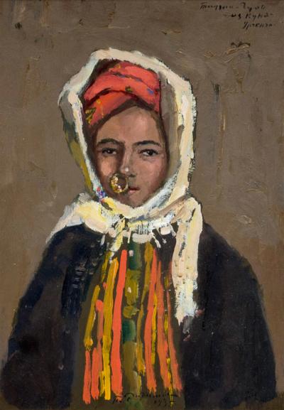 Картина «Портрет девушки из Куня-Ургенч»