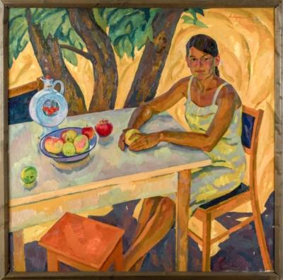 Картина «Портрет жены»