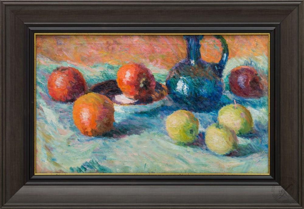 Картина «Кувшин с яблоками»