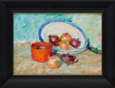 Картина «Натюрморт с луком»