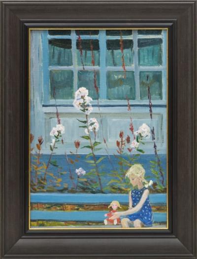 Картина «Девочка с куклой»
