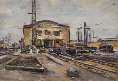 Картина «Железнодорожная станция»