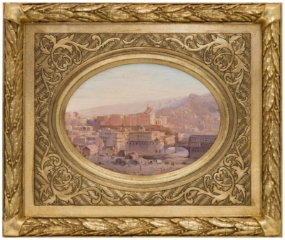 Картина «Вид на Метехский замок»