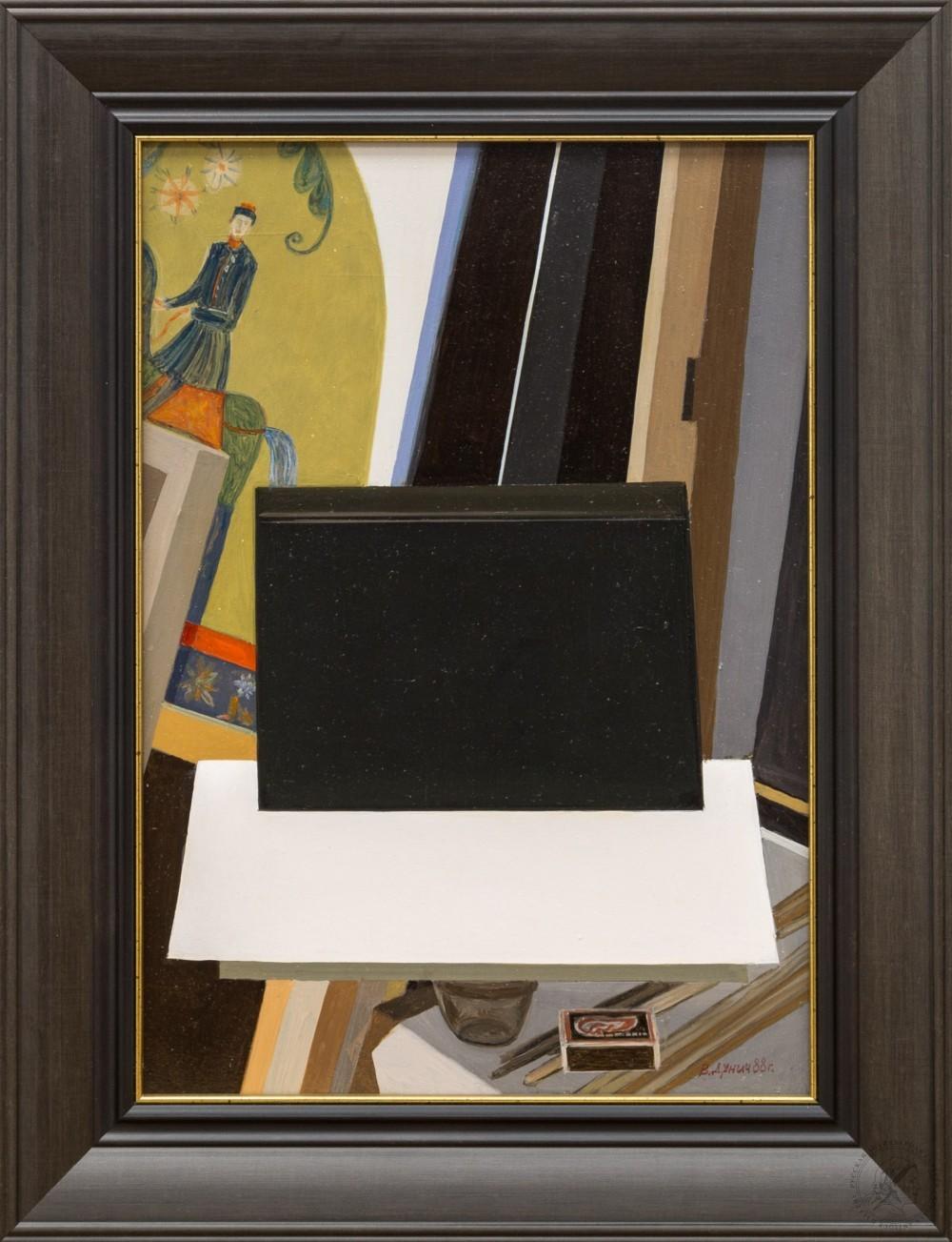 Картина «Композиция со спичечным коробком»