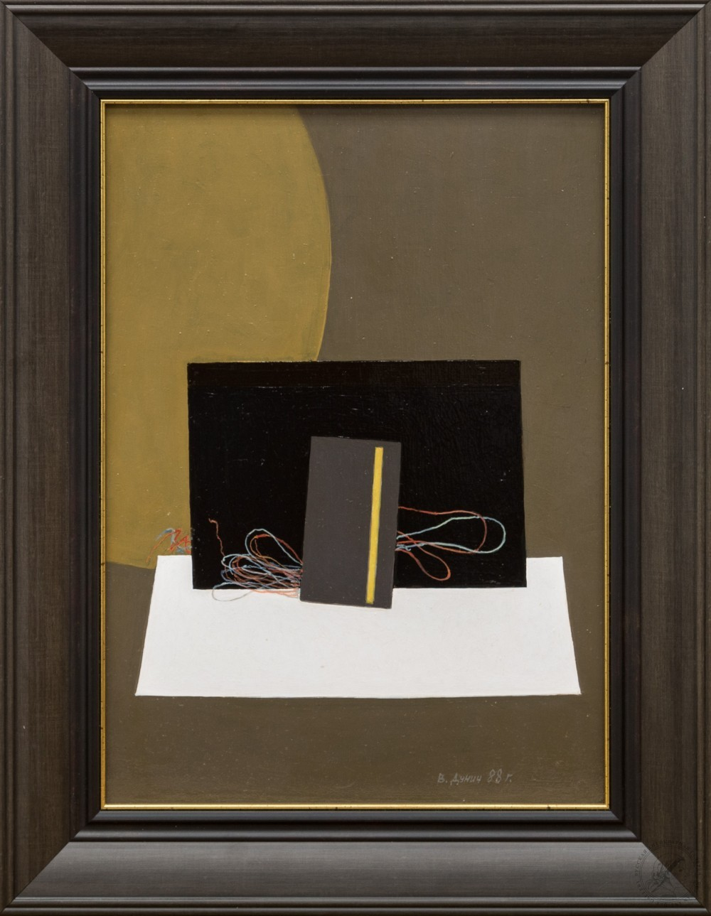 Картина «Композиция с проводами»