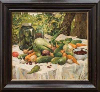 Картина «Дачный урожай»
