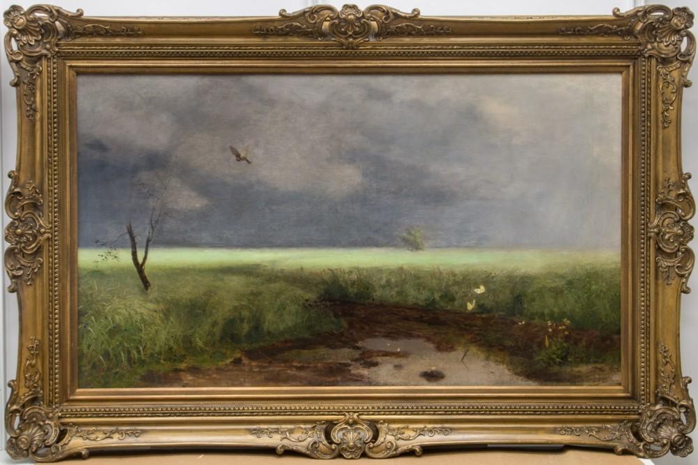 Картина «Пейзаж с рекой»