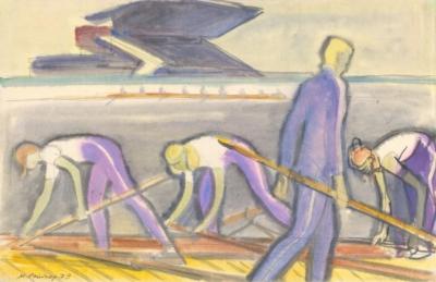 Рисунок «Академическая гребля»