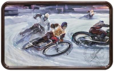 Картина «Трековые мотогонки»