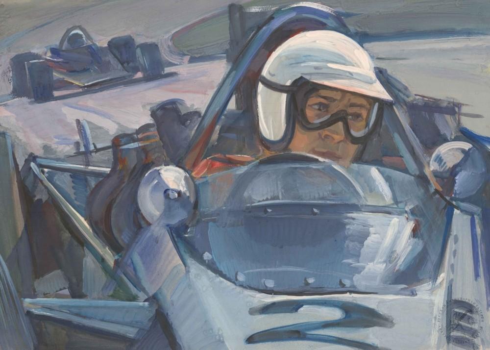 Рисунок «Чемпион СССР. Барковский»
