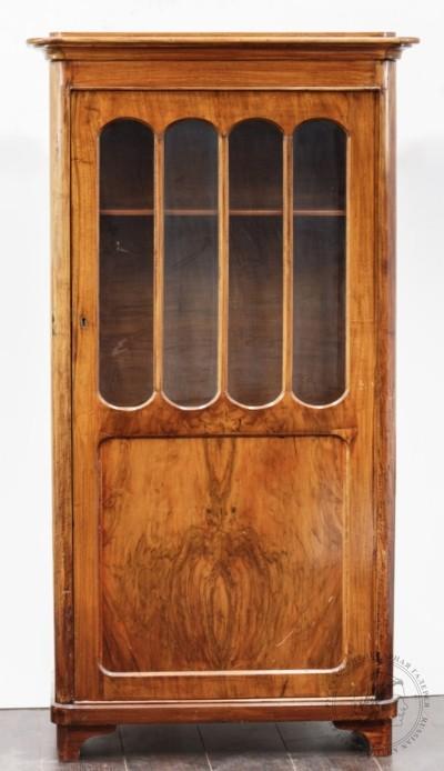 Шкаф книжный, с застекленной дверцей