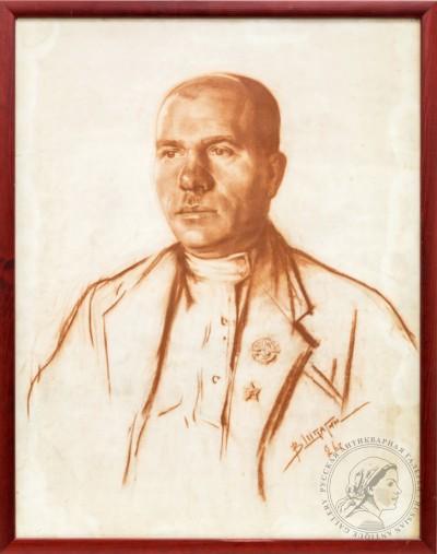 Рисунок «Мужской портрет»