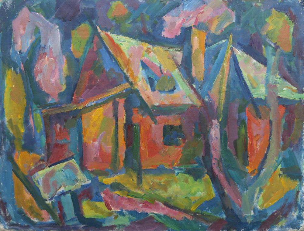 Картина «Домик в Тарусе»