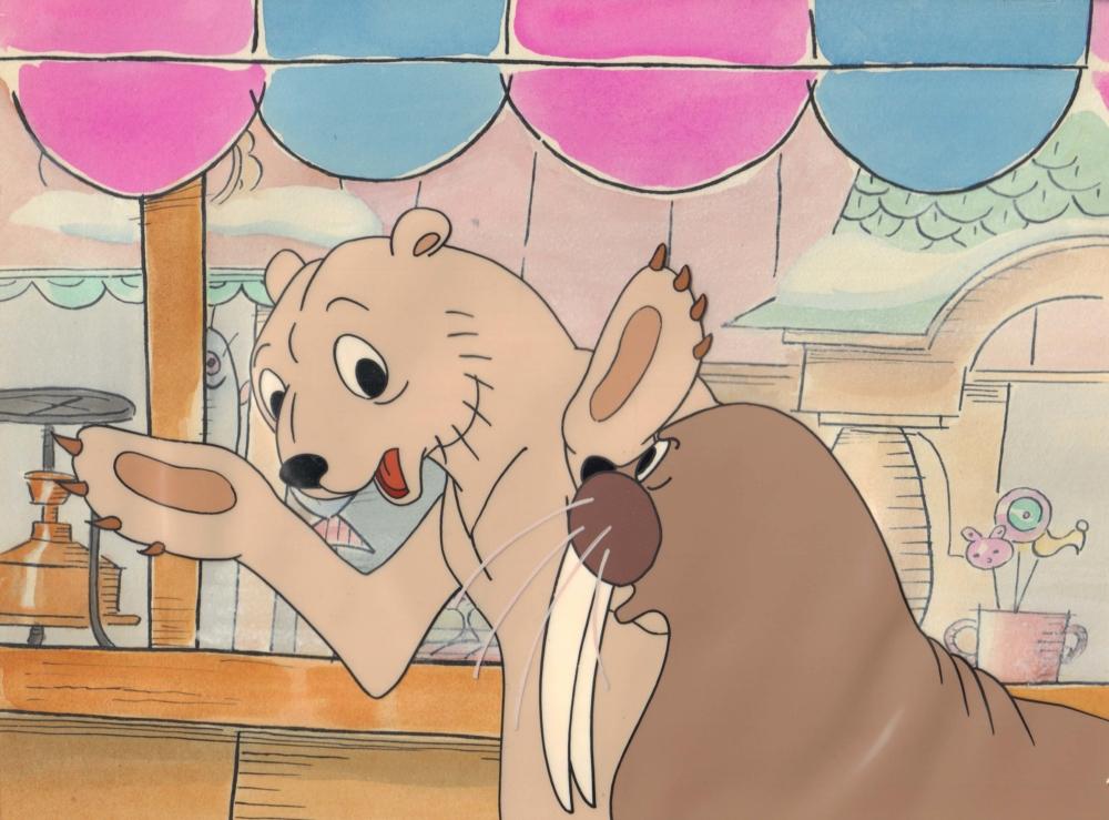 Кадр из мультфильма «Сказка про лень»
