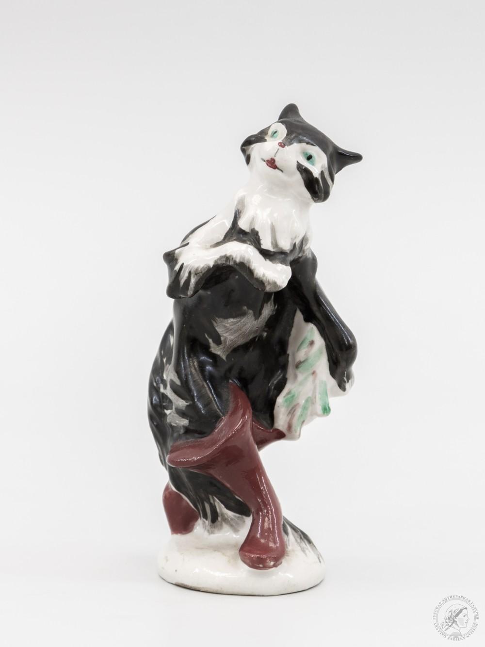 Скульптура Кот в сапогах