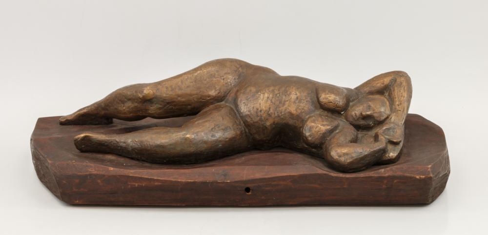 Скульптурная композиция «Лежащая обнаженная»
