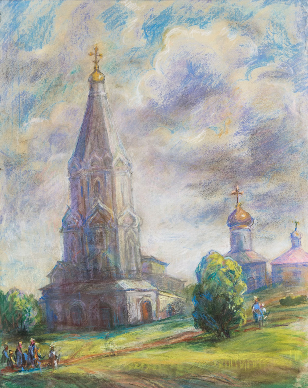 Пастель «Коломенское»